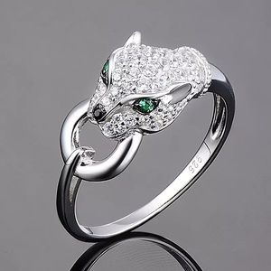 🐆 Panther diamond chic Ring